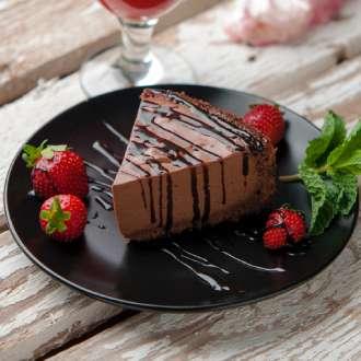 Kerst - Chocoladetaart