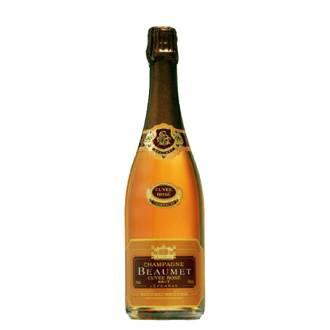 Champagne Beaumet Brut Rosé | Frankrijk | Droog, strak en fruitig | Pinot Meunier, Pinot Noir