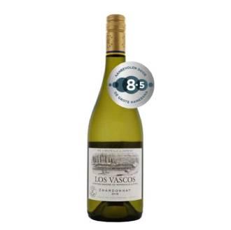 Los Vascos Chardonnay | Peralillo, Chili | 2018 | Fris, fruitig en droog