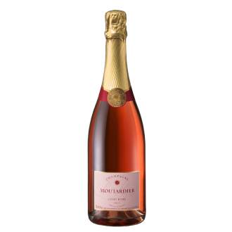 Champagne Moutardier Cuvée Rosée | Frankrijk | Droog, strak en fruitig | Chardonnay, Pinot Meunier