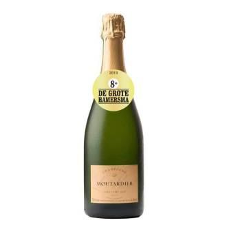 Champagne Moutardier Millésimé 2008 | Frankrijk | Rijp en fruitig | Chardonnay, Pinot Meunier