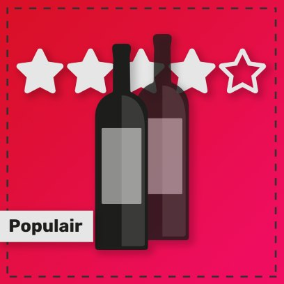 Populaire rode wijnen van de Baga druif