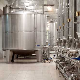 Moderne wijnproducent