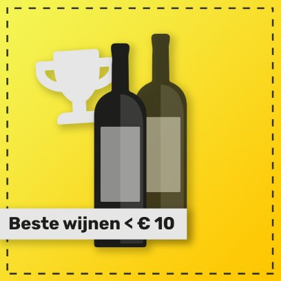 Beste witte wijnen onder de 10 euro van de Rabigato druif