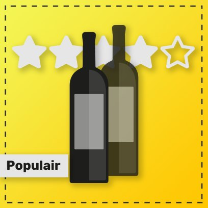 Populaire witte wijnen van de Rabigato druif