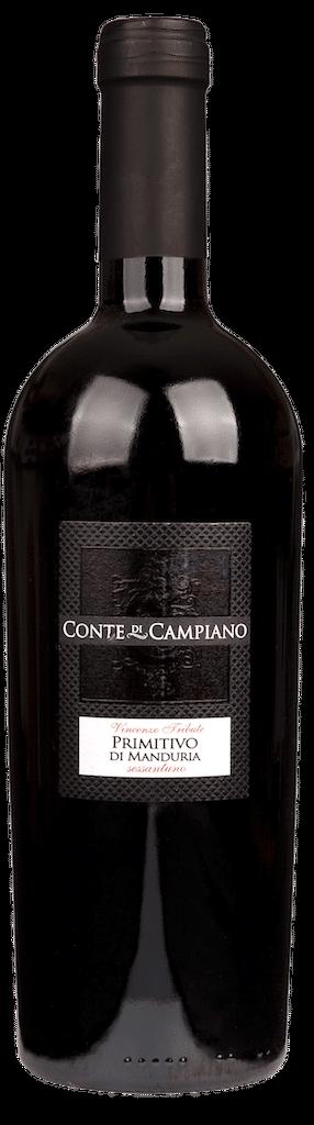 Conte di Campiano Primitivo di Manduria | Italië | gemaakt van de druif: Primitivo