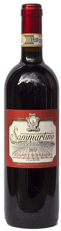 Sammartino Chianti Superiore | Italië | gemaakt van de druif: Colorino, Sangiovese