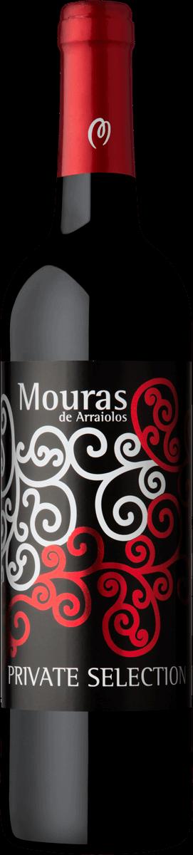 Mouras Private selection Tinto | Portugal | gemaakt van de druif: Aragonez, Syrah