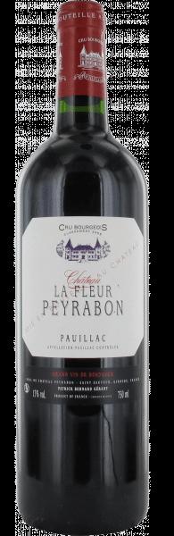 Château Peyrabon La Fleur Pauillac | Frankrijk | gemaakt van de druif: Cabernet Sauvignon, Merlot, Petit Verdot