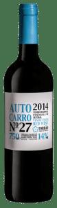 Autocarro Nr 27 Tinto | Portugal | gemaakt van de druif: Aragonez, Cabernet Sauvignon, Touriga Nacional