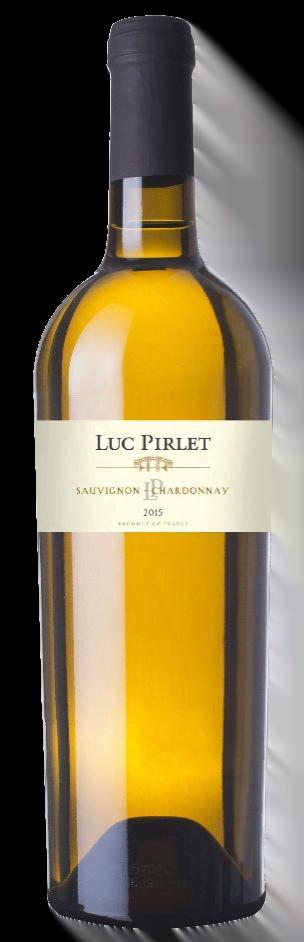 Domaine Luc Pirlet Sauvignon-Chardonnay | Frankrijk | gemaakt van de druif: Chardonnay