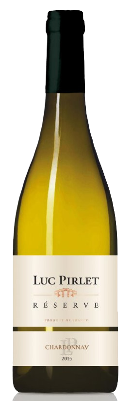 Domaine Luc Pirlet Chardonnay 'Réserve' | Frankrijk | gemaakt van de druif: Chardonnay
