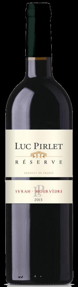 Domaine Luc Pirlet Syrah-Mourvèdre Réserve | Frankrijk | gemaakt van de druif: Mourvèdre