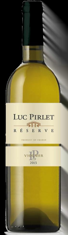 Domaine Luc Pirlet Viognier 'Réserve' | Frankrijk | gemaakt van de druif: Viognier
