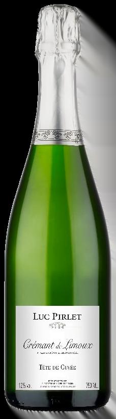 Domaine Luc Pirlet Crémant de Limoux | Frankrijk | gemaakt van de druif: Chardonnay, Chenin Blanc, Mauzac