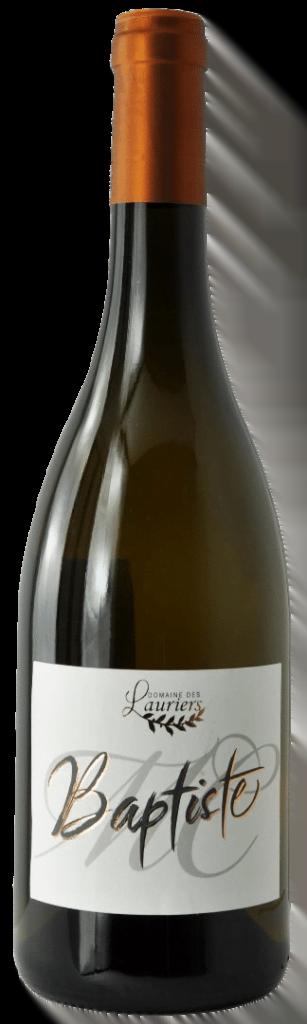 Domaine des Lauriers 'Baptiste' | Smaak: fris, fruitig en droog | Gemaakt van de druif: Picpoul, Vermentino | Land: Frankrijk