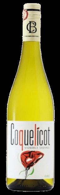 Bruno Andreu, Coquelicot blanc | Frankrijk | gemaakt van de druif: Roussanne, Sauvignon Blanc