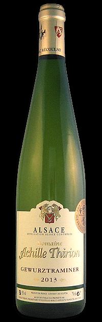 Domaine Achille Thirion, Gewurztraminer | Frankrijk | gemaakt van de druif: gewürztraminer