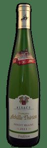 Domaine Achille Thirion, Pinot Blanc | Frankrijk | gemaakt van de druif: Pinot Blanc