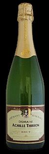 Domaine Achille Thirion, Crémant d'Alsace, brut | Frankrijk | gemaakt van de druif: Auxerrois, Chardonnay, Pinot Blanc