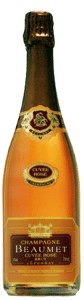 Champagne Beaumet Brut Rosé | Frankrijk | gemaakt van de druif: Pinot Meunier, Pinot Noir