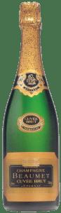 Champagne Moutardier Cuvee Sélection Brut | Frankrijk | gemaakt van de druif: Chardonnay, Pinot Meunier, Pinot Noir