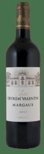 Château Deyrem Valentin | Frankrijk | gemaakt van de druif: Cabernet Sauvignon, Carmenere, Merlot, Petit Verdot
