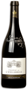 Château de l'Engarran rouge | Frankrijk | gemaakt van de druif: Carignan, Grenache, Mourvèdre, Syrah