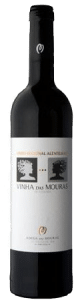 Vinha das Mouras tinto | Portugal | gemaakt van de druif: Alicante Bouschet, Aragonez, Syrah, Trincadeira