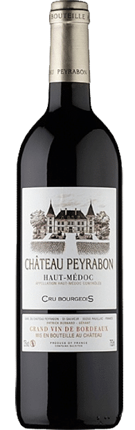 Château Peyrabon Haute-Médoc | Frankrijk | gemaakt van de druif: Cabernet Franc