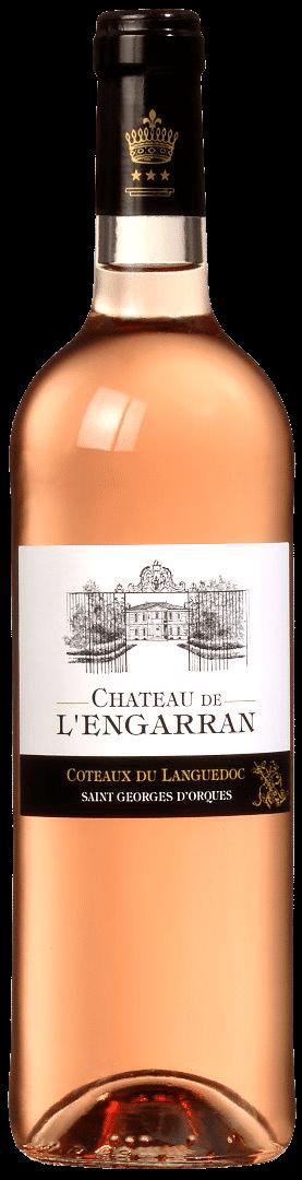 Château de l'Engarran rosé | Frankrijk | gemaakt van de druif: Cinsault, Grenache