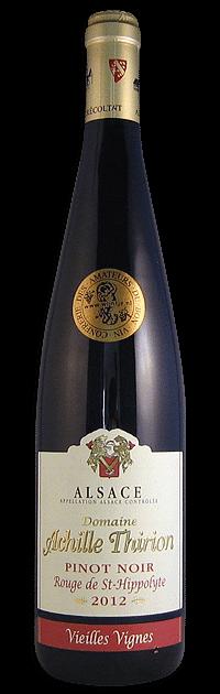 Domaine Achille Thirion, Pinot Noir 'Vieilles Vignes'   Frankrijk   gemaakt van de druif: Pinot Noir