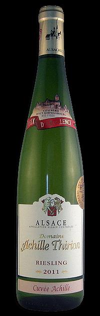 Domaine Achille Thirion, Riesling | Frankrijk | gemaakt van de druif: Riesling