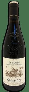 Château du Trignon 'Le Bossu', Gigondas | Frankrijk | gemaakt van de druif: Cinsault, Grenache, Mourvèdre, Syrah