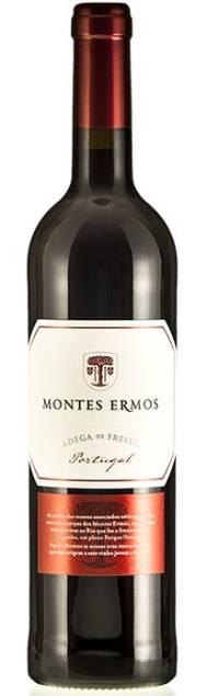 Montes Ermos Adega de Freixo Tinto   Portugal   gemaakt van de druif: Tinta Roriz, Touriga Franca, Touriga Nacional