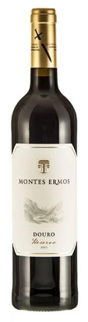 Montes Ermos Reserva Tinto   Portugal   gemaakt van de druif: Tinta Roriz, Touriga Franca, Touriga Nacional