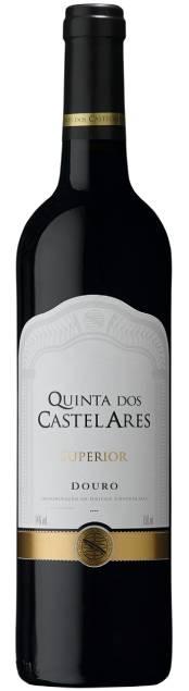 Quinta dos Castelares Superior Tinto bio | Portugal | gemaakt van de druif: Tinta Roriz, Touriga Franca, Touriga Nacional