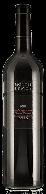 Montes Ermos Grande Reserva Touriga Nacional Tinto 2007   Portugal   gemaakt van de druif: Touriga Nacional