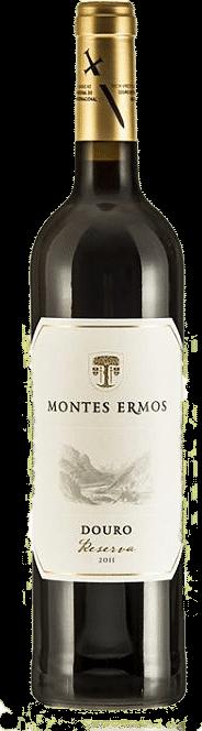Montes Ermos Reserva Tinto 2015   Portugal   gemaakt van de druif: Tinta Roriz, Touriga Franca, Touriga Nacional