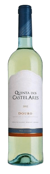 Quinta dos Castelares Colheita Branco bio   Portugal   gemaakt van de druif: Códega do Larinho, Rabigato, Verdelho