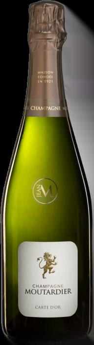 Champagne Moutardier – Carte d'Or Demi-Sec | Frankrijk | gemaakt van de druif: Chardonnay, Pinot Meunier