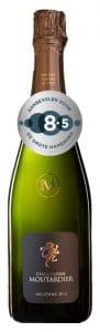Champagne Moutardier Millésimé | Frankrijk | gemaakt van de druif: Chardonnay, Pinot Meunier