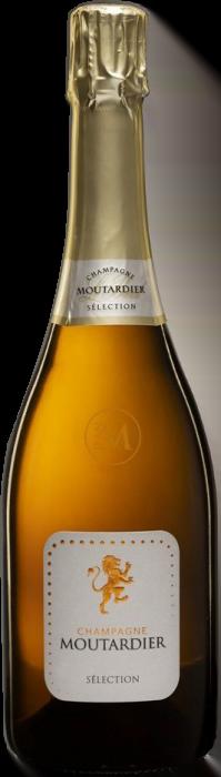 Champagne Moutardier Cuvee Sélection Brut | Frankrijk | gemaakt van de druif: Chardonnay, Pinot Noir