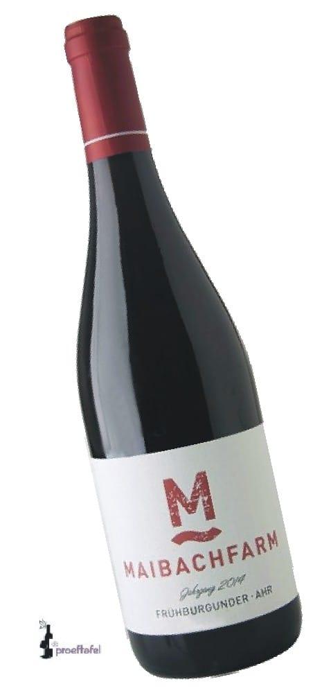 Maibachfarm – Ahr Frühburgunder   Duitsland   gemaakt van de druif: Frühburgunder