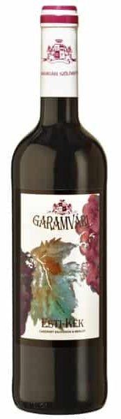 Garamvári Premium Esti-kék | Hongarije | gemaakt van de druif: Cabernet Sauvignon, Merlot