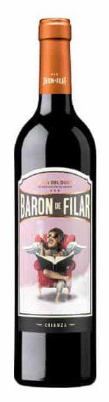 Baron de Filar Crianza | Spanje | gemaakt van de druif: Cabernet Sauvignon, Merlot, Tempranillo