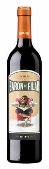 Baron de Filar Reserva | Spanje | gemaakt van de druif: Cabernet Sauvignon, Merlot