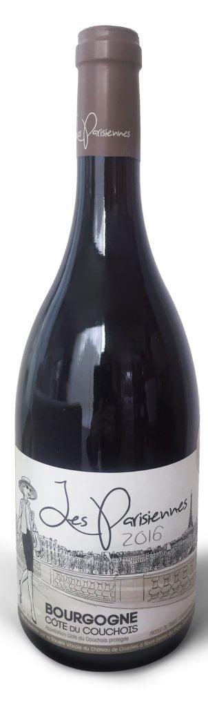 Les Parisiennes 2016 | Smaak: Fruitig, licht, soepel | Gemaakt van de druif: Pinot Noir | Land: Frankrijk