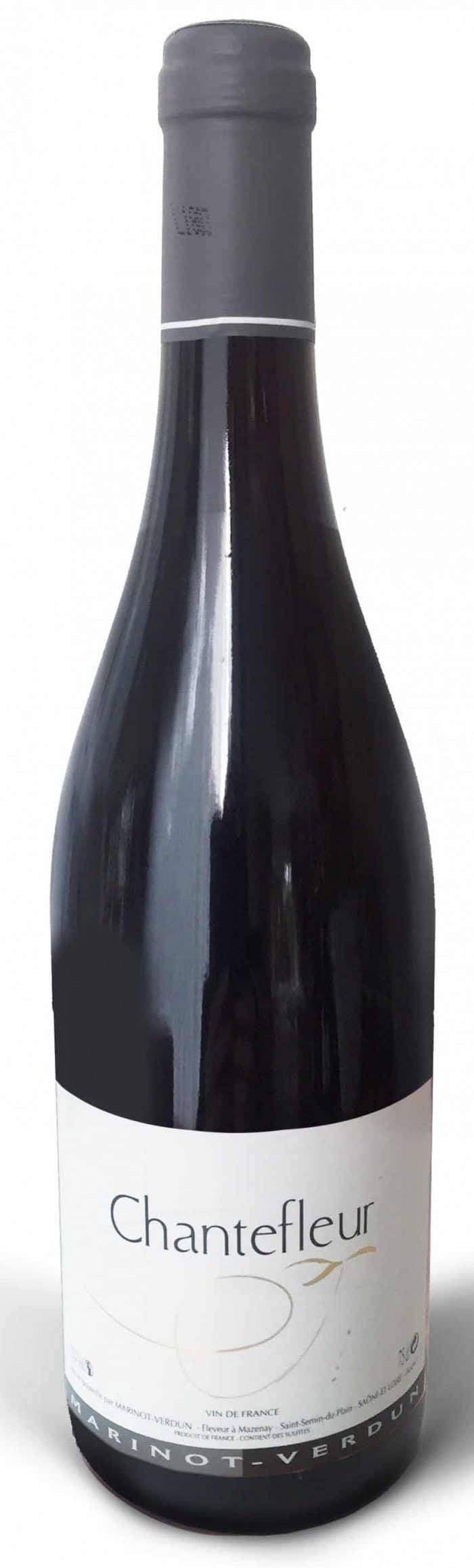 Chantefleur Rouge | Frankrijk | gemaakt van de druif: Melange Franse druiven