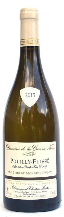 Domaine de la Creuze Noire Pouilly Fuissé | Frankrijk | gemaakt van de druif: Chardonnay